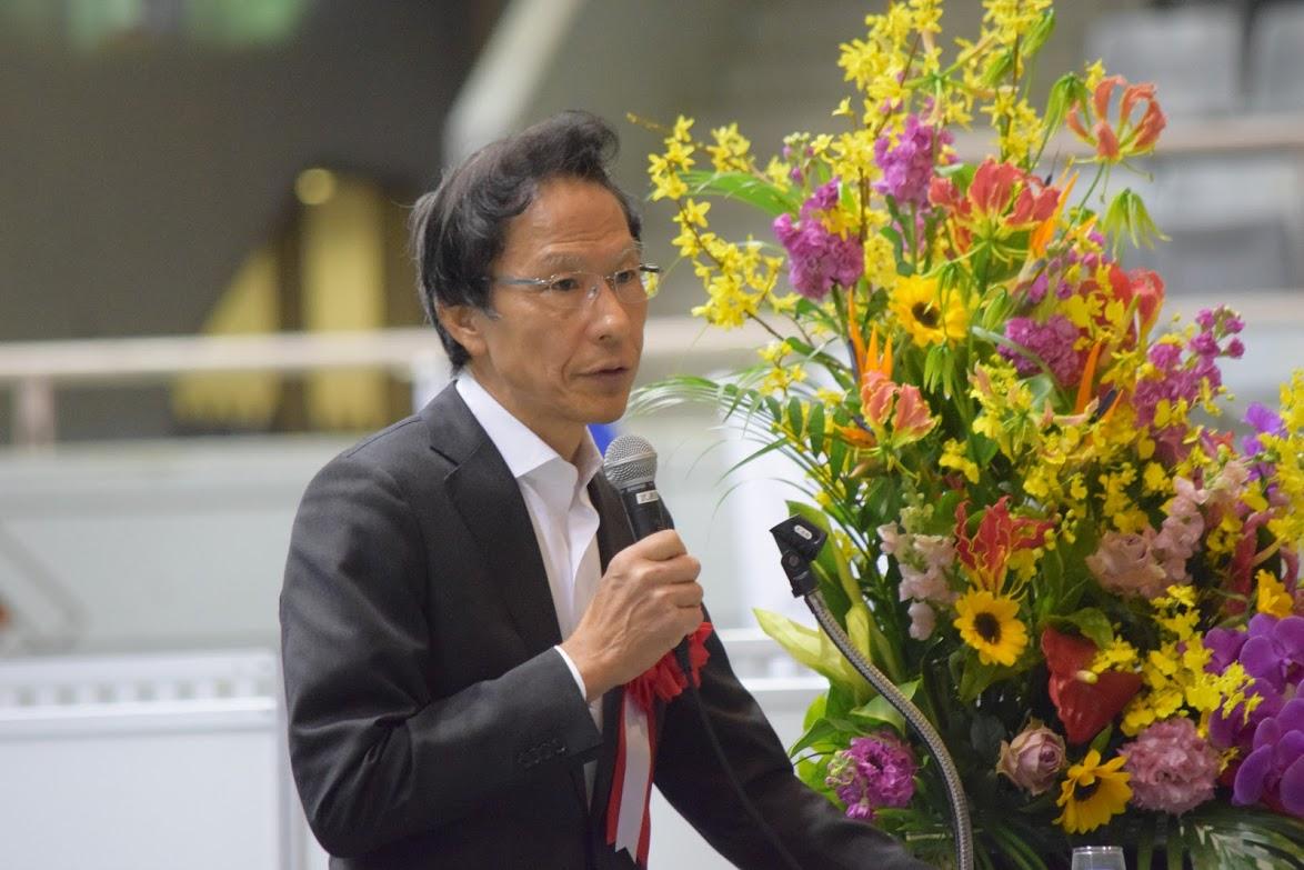 未来共創フェア2019 3.基調講演(姜尚中・東京大学名誉教授)