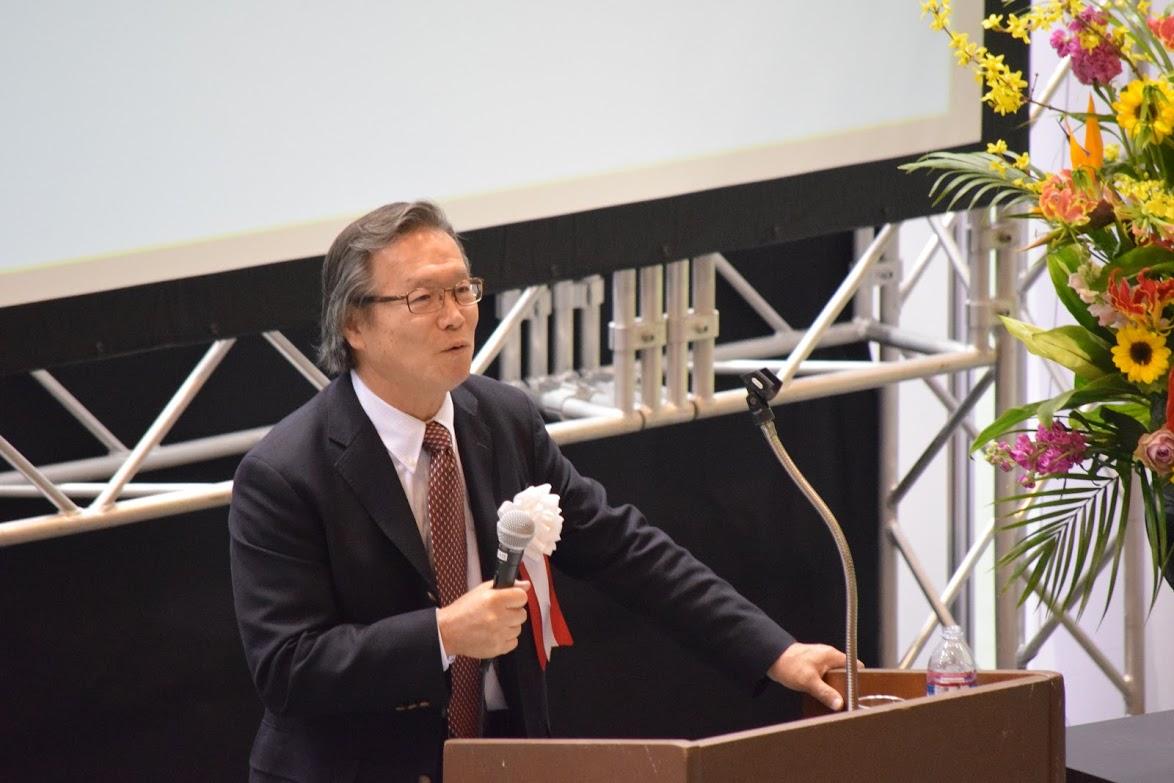未来共創フェア2019 5.実行委員長挨拶(須加原機構長)